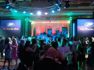 Corporate Event for Boots with Platinums Female DJs.